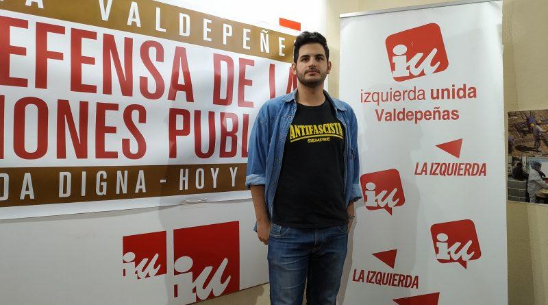 Alberto Parrilla Coordinador Local Asamblea Izquierda Unida Valdepeñas